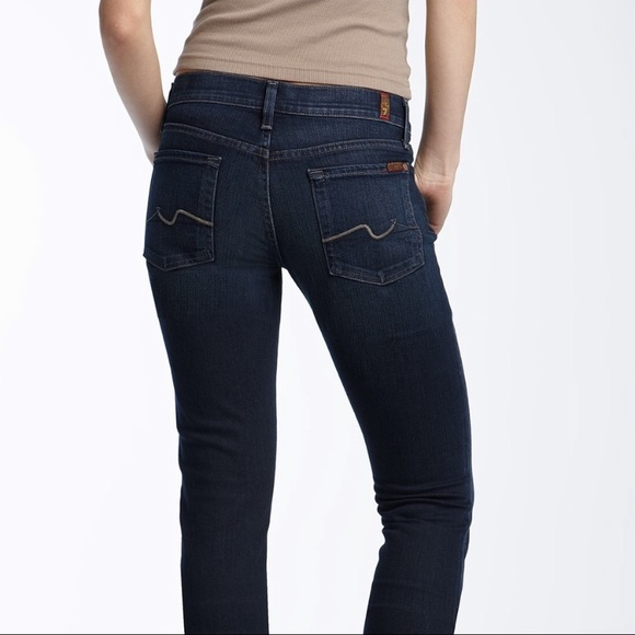 7 For All Mankind Denim - 7 FOR ALL MANKIND • ROXANNE SKINNY JEANS